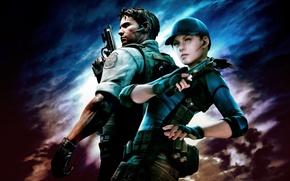 Picture Jill valentain, Kris Redfild, Capcom., Resident evil
