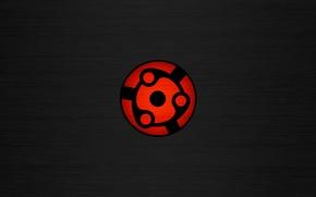 Picture red, Wallpaper, black, Minimalism, Naruto