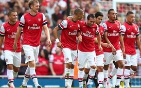 Picture football, football, Arsenal, soccer, football club, fc arsenal
