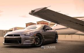 Picture GTR, wheels, NISSAN, strasse
