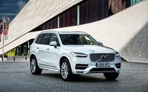 Picture Volvo, XC90, Volvo, UK-spec, 2015, Inscription