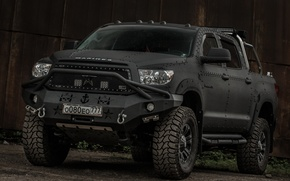 Picture toyota, tuning, 4x4, offroad, tundra, line-x