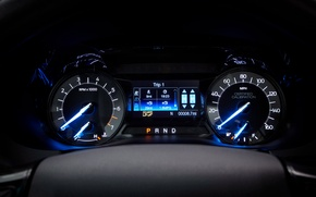 Picture panel, Ford, Police, Interceptor, torpedo, Utility, dashboard