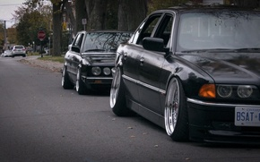 Picture BMW, tuning, stance, E28, E38
