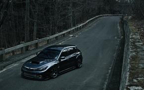 Wallpaper Subaru, Impreza, WRX STI, Hatchback