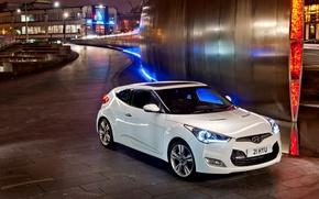Picture Hyundai, Veloster, Veloster White, Hyundai car, Hyundai Veloster