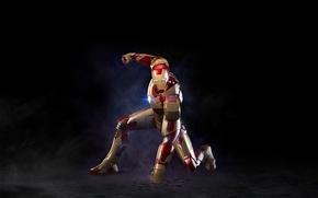Picture cinema, red, golden, armor, power, man, iron man, film, suit, mist, Tony Stark, pearls, iron …