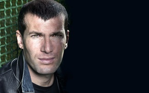 Wallpaper Zizou, player, Zidane