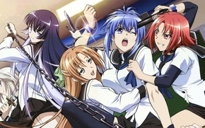 Picture girls, anime, camphor