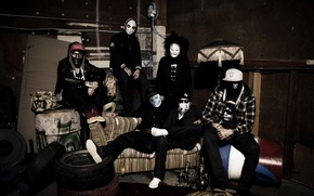 Picture hollywood undead, j-dog, danny
