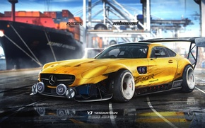 Picture mercedes, amg, racer, yasiddesign, inbound