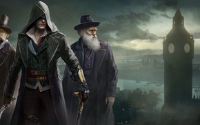 Wallpaper London, Assassins Creed, Art, Darwin, Syndicate, Syndicate, Ubisoft Quebec, Assassin's Creed: Syndicate, Assassin's Creed: Syndicate, ...