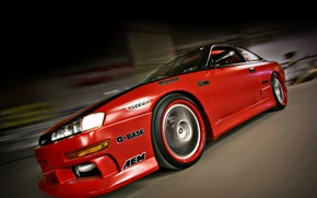 Picture tuning, speed, nissan, turbo, red, japan, Nissan, jdm, tuning, silvia, speed, 200sx, Sylvia, s14