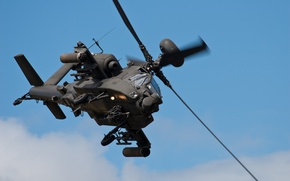 """Picture helicopter, Apache, shock, AH-64, main, """"Apache"""""""