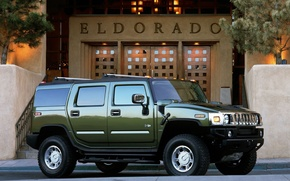 Picture green, Hummer, eldorado