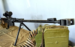 Wallpaper weapons, wall, long, power, beautiful, brake, tape, trunk, strap, cartridges, rifle, shop, with, much, sniper, ...