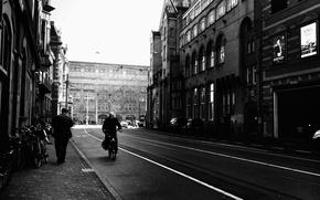 Picture city, Amsterdam, street, Lijnbaansgracht, Leidseplein
