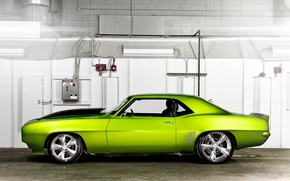 Picture machine, green, Chevrolet, car, Rides Green Monster 31
