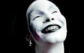 Picture smile, makeup, macabre, Brackets