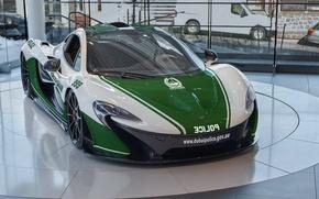 Picture McLaren, Dubai, Police