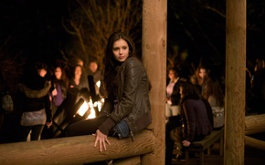Wallpaper the series, Nina Dobrev, actress, katrin pirs, Nina Dobrev, Elena Gilbert, The Vampire Diaries, Katherine ...