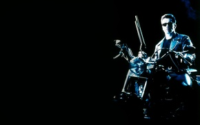 Picture the film, Terminator 2, Arnold Schwarzenegger, judgment day