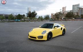 Picture Porsche, Turbo, Wheels, 991, HRE