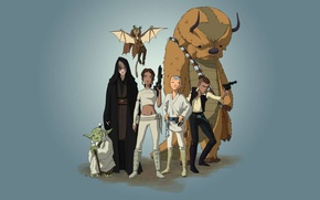 Picture avatar, friends, Aang