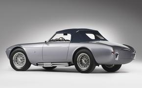 Picture retro, beauty, supercar, sports car, convertible, sports car, Maserati A6GCS Frua Spider