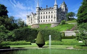 Wallpaper Highland, Scotland, Castle