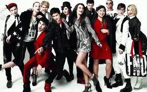 Wallpaper the series, Lea Michele, Glee, losers, fashion
