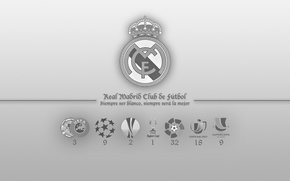 Picture wallpaper, logo, Real Madrid CF
