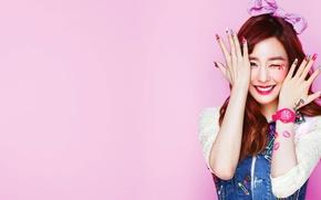 Wallpaper Tiffany, South Korea, K-pop, girl, SNSD, music, Girls Generation, Asian