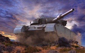 Picture Wallpaper, tank, world of tanks, Centurion, Centurion, Wallpaper wot