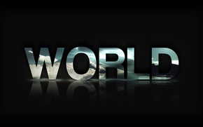 Picture The world, World, Text