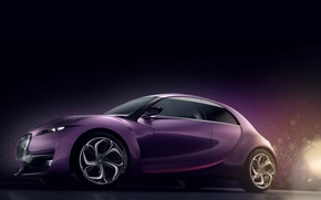 Wallpaper Citroen, the concept car, revolte
