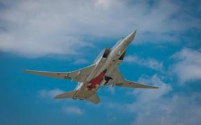 Picture the sky, supersonic, Tu-22M3, far, submarine bomber