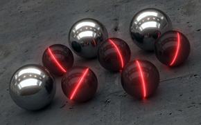 Picture Balls, Balls, Industrial Glow