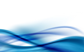 Wallpaper transparency, line, blue, curves