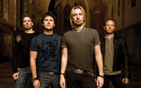 Picture Chad Kroeger, rock band, Mike Kruger, Nickelback