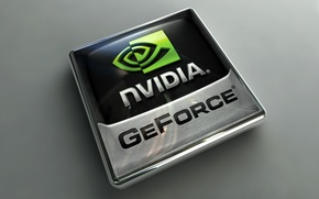 Wallpaper Logo, Nvidia, GeForce