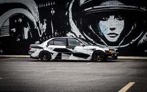 Picture BMW, BMW, winter, Alpina, E38, 740il, arctic camo, camo, Tyung