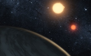 Picture star, Space, exoplanet