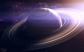 Picture space, planet, Saturn, saturn, QAuZ