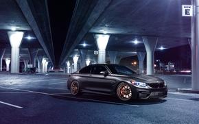 Picture BMW, Car, Front, Bridge, Parking, Mode, Carbone