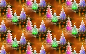 Wallpaper New year, texture, background, candle, holiday, herringbone