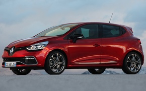 Picture car, Renault, Clio, red, reno, R.S. 200