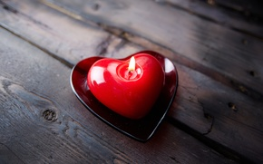 Picture love, heart, candle, love, heart, romantic, sweet
