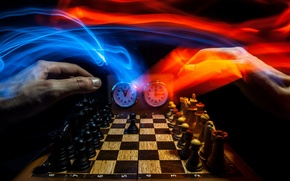 Picture background, sport, hands, chess