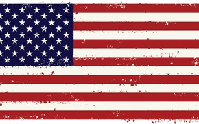 Picture white, red, strip, flag, USA, U.S.A., the United States of America